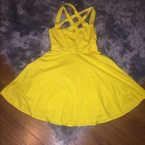 Moda International Yellow Dress